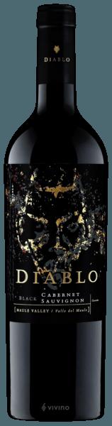 Vinho Tinto Chileno  Diablo  Dark Black Cabernet Sauvignon