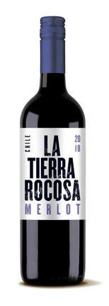Vinho Tinto Chileno La Tierra Rocosa Merlot