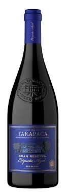 Vinho Tinto Chileno Tarapaca Gran Reserva Etiqueta Azul Red Blend 2017