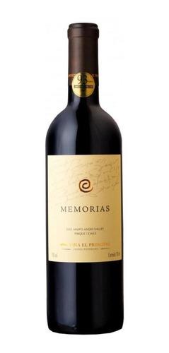 Vinho Tinto Chileno El Principal Memorias 2017