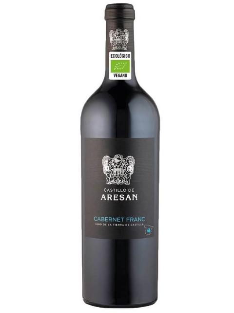 Vinho Tinto Espanhol Aresan Cabernet Franc Orgânico