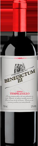 Vinho Tinto Espanhol Benedictum III Tempranillo