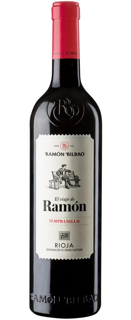 Vinho Tinto Espanhol El Viaje de Ramon Tempranillo 2017