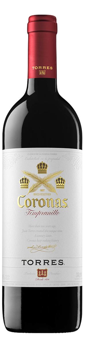 Vinho tinto espanhol Torres Coronas Tempranillo 2017
