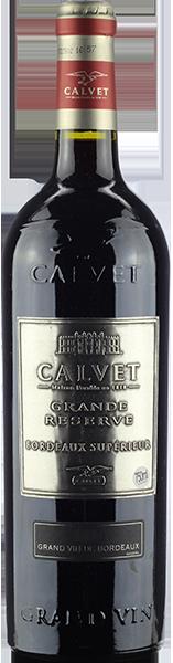 Vinho Tinto Frances Calvet Grande Reserve Bordeaux Superieur