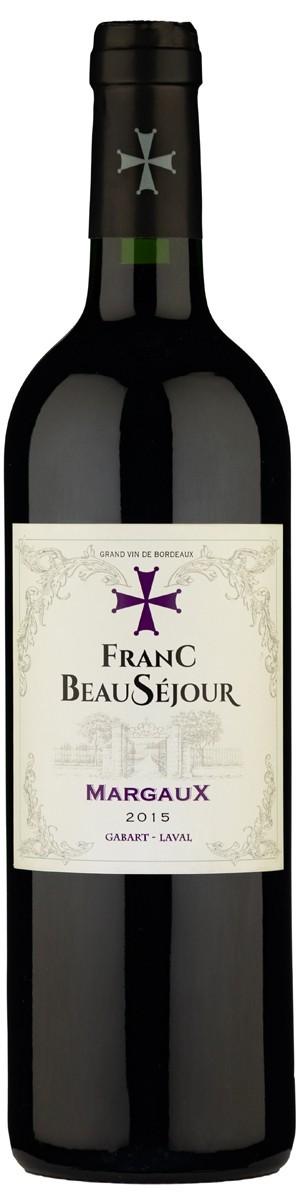 Vinho Tinto Frances Franc BeauSejour Margaux 2015