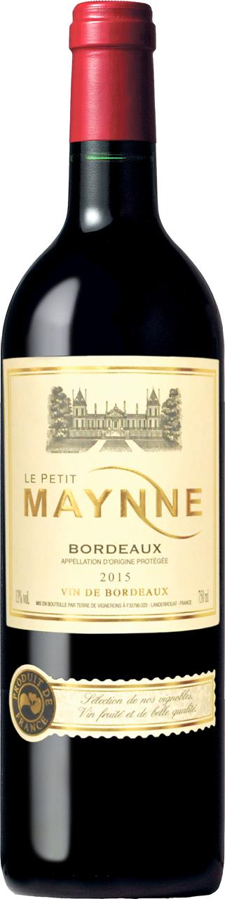 Vinho Tinto Frances Le Petite Maynne Bordeaux 2015