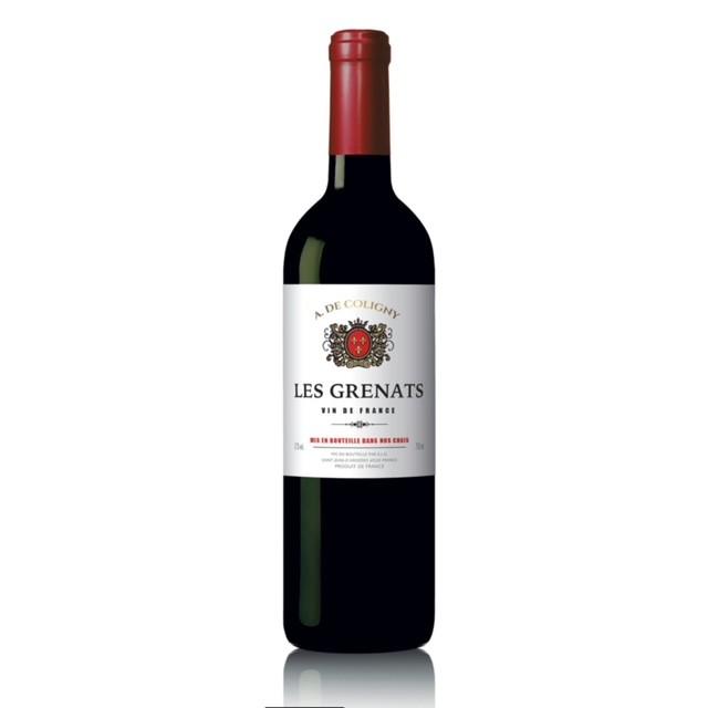 Vinho Tinto Frances Les Grenats A. de Coligny