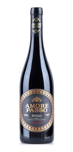 Vinho Tinto Italiano Amore Passo Rosso Puglia