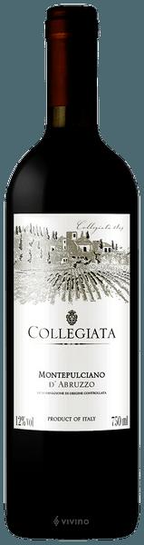 Vinho Tinto Italiano Montelpuciano d'Abruzzo Collegiata