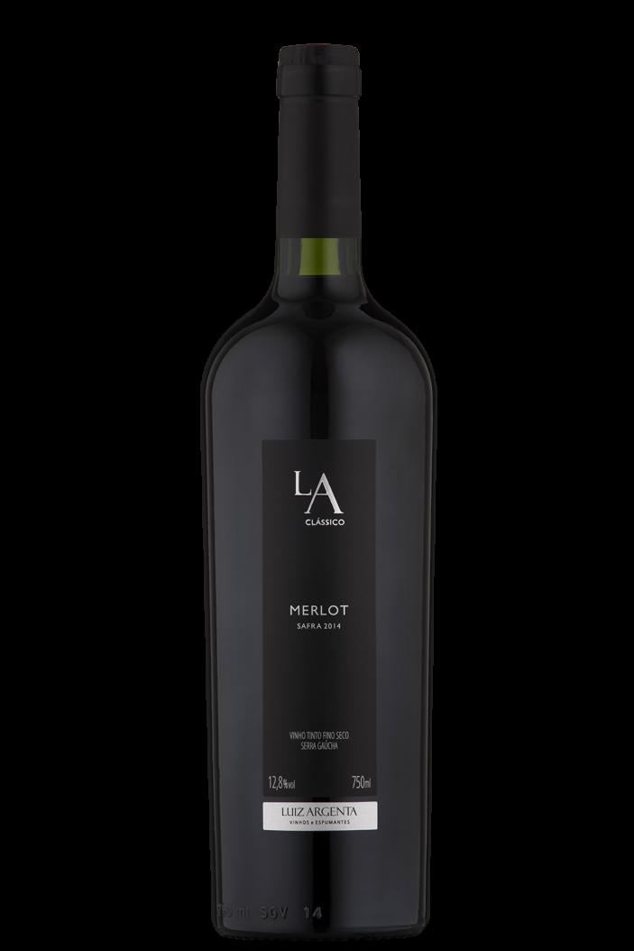 Vinho Tinto Nacional Luiz Argenta Clássico Merlot 2017