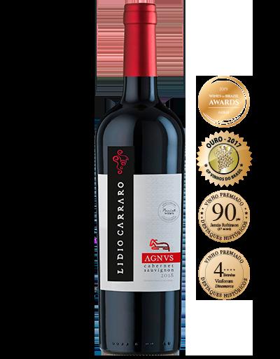 Vinho Tinto Nacional Lidio Carraro Agnus Cabernet Sauvignon