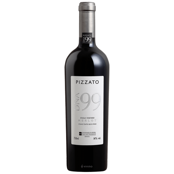Vinho Tinto Nacional  Pizzato DNA 99 Merlot Single Vineyard DO