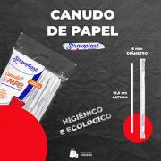 Canudo de Papel Strawplast (100 unidades)