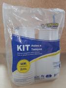 Kit Pote e Tampa 500ml com 25 unidades - Copozan