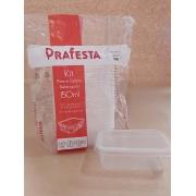 Marmita Fit 150 ml com 20 unidades - Prafesta