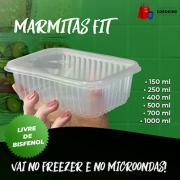 Marmita Fit (ESCOLHA O TAMANHO)