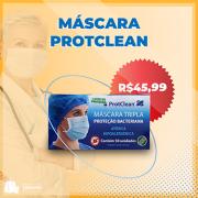 Máscara Tripla ProtClean (50 unidades)