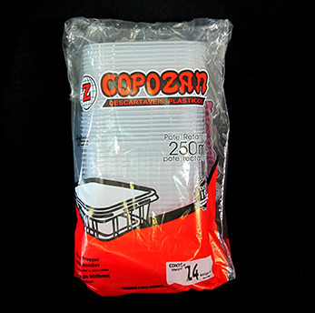 Marmita Fit 250 ml (24 unidades) Copozan