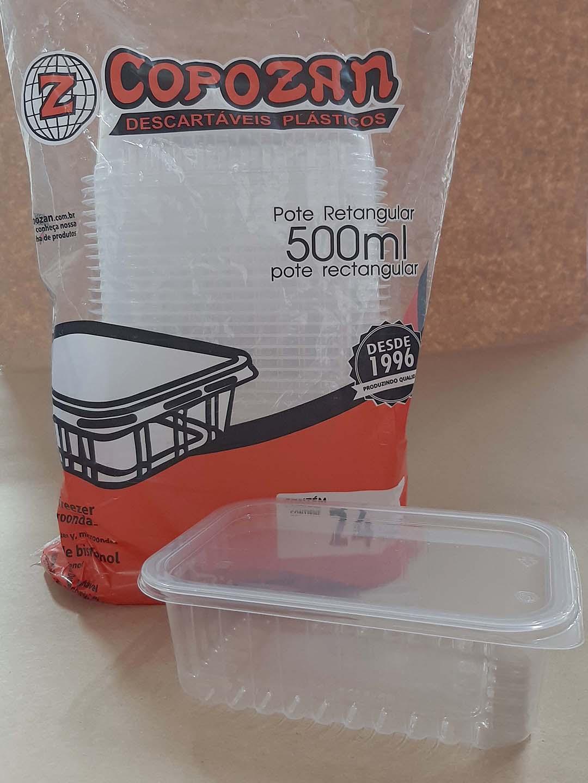 Marmita Fit 500 ml (24 unidades)