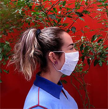 Máscara de Algodão Reutilizável (100 unidades)
