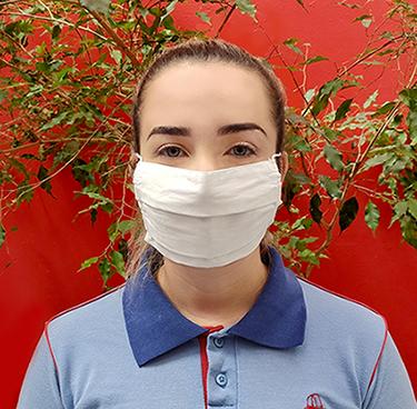 Máscara de Algodão Reutilizável (10 unidades)