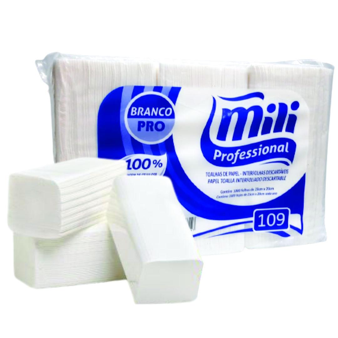 Papel Toalha Interfolhado - Mili Pro