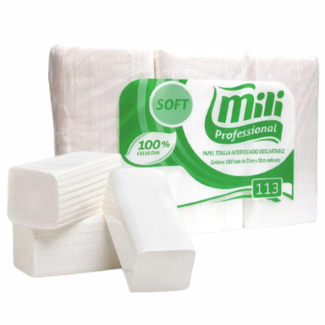 Papel Toalha Interfolhado - Mili Soft