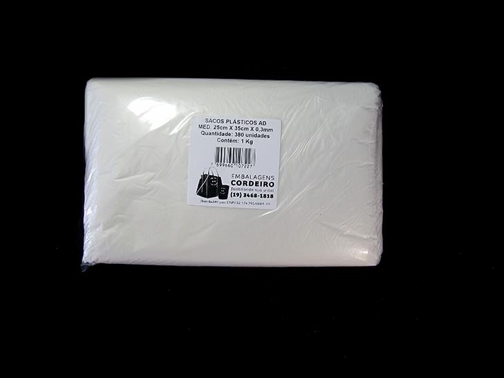 Saco AD | 25x35x0,003 - 1kg