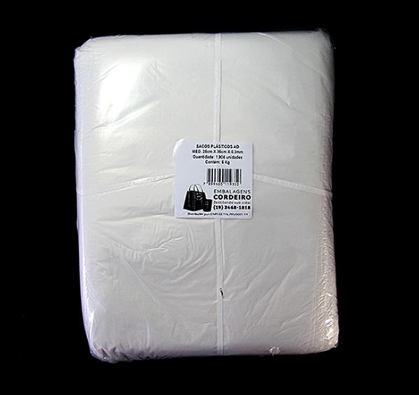 Saco AD Alta Densidade | 25x35x0,003 - 5kg