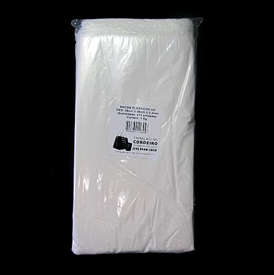 Saco AD Alta Densidade | 35x45x0,003 - 1kg