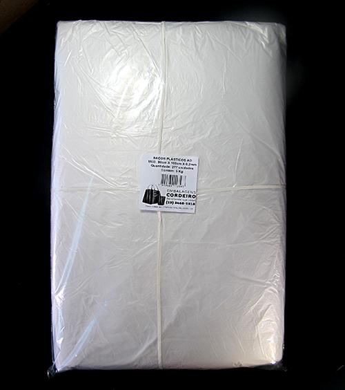 Saco AD Alta Densidade | 90x100x0,003 - 5kg