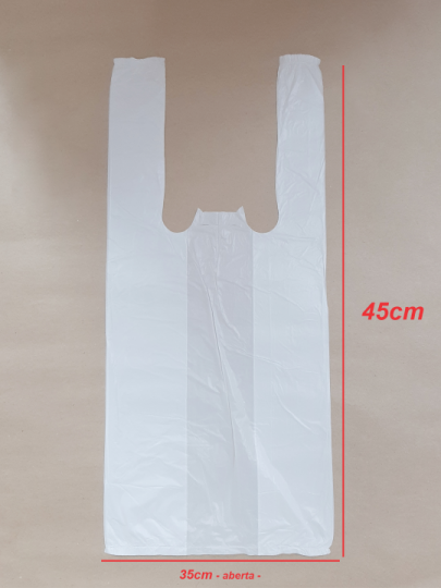 Sacola Branca 35x45cm (100 unidades)