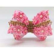Tiara Luxo Com Flores
