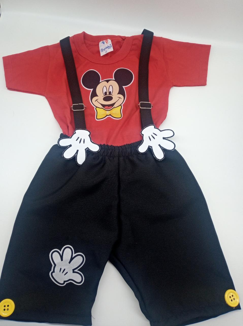 Conjunto Mickey para Mesversário