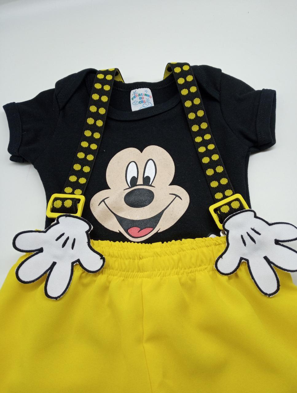 Conjunto Mickey para Mesversário Diversão