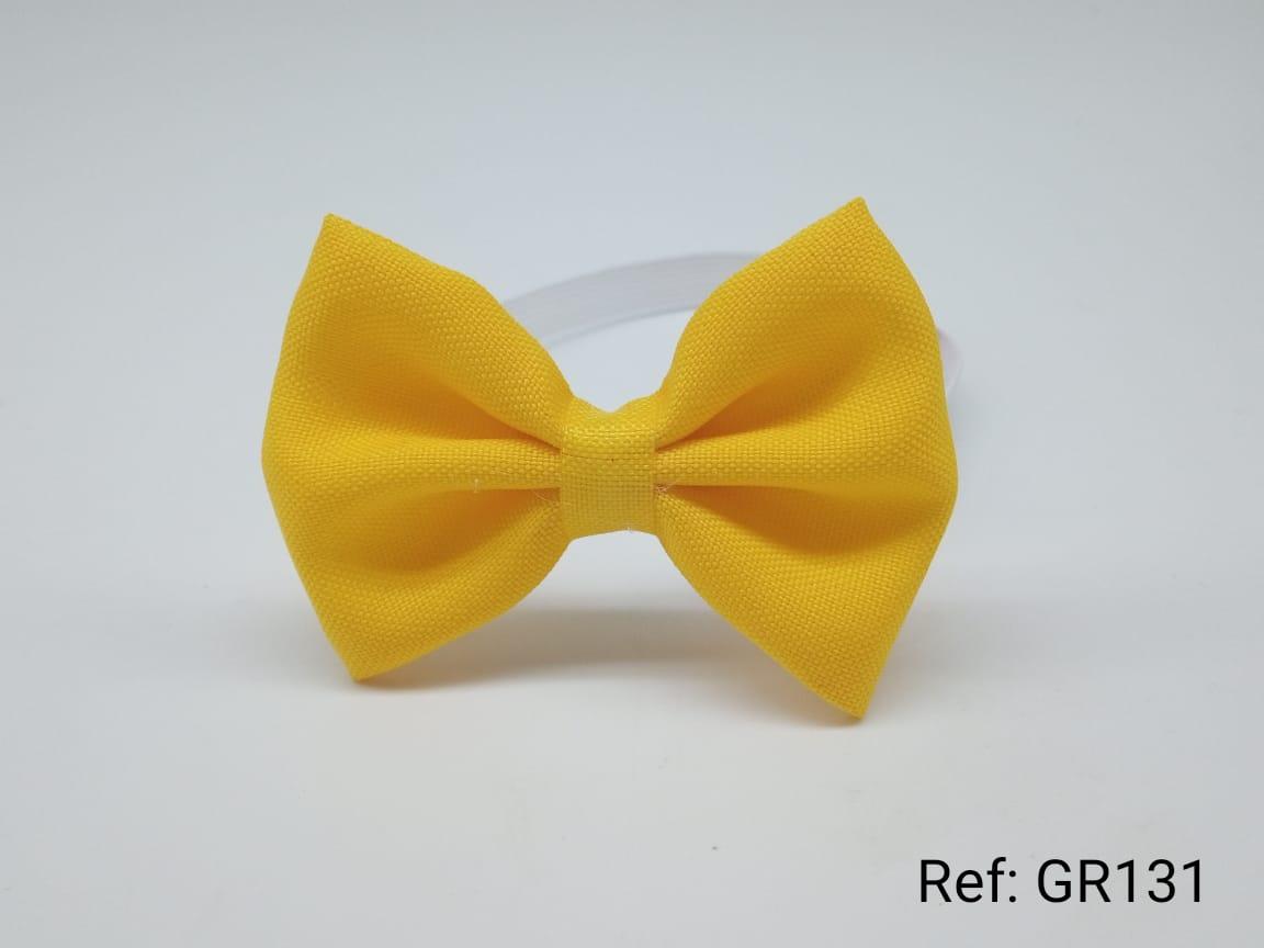 Gravatas Borboleta Amarelo