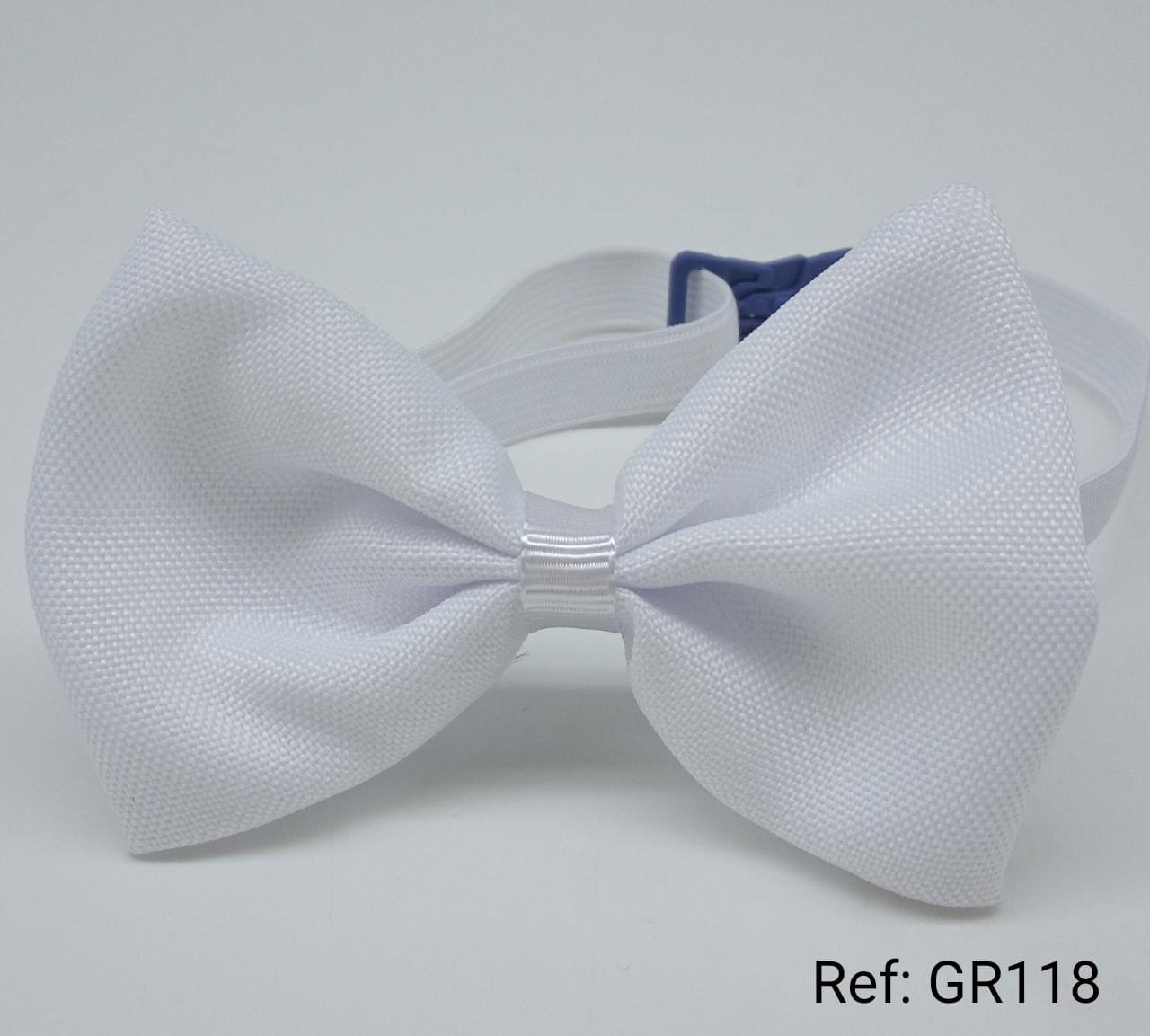 Gravatas Borboleta Branco