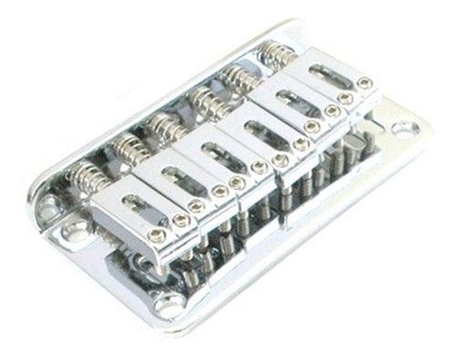 Ponte Cromada Fixa Para Guitarra - Bn003 Sungi-il