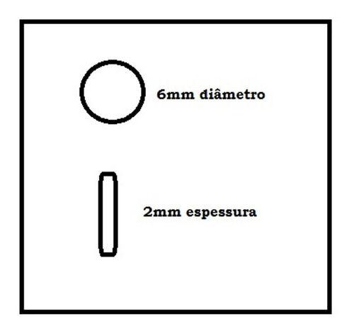 Marcador Escala De Violão Abalone 6 Mm Kit 10 Peças Luxo
