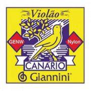 Encordoamento Giannini Canário para violão nylon