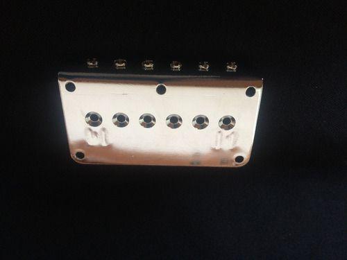 Ponte Guitarra Fixa Bn003 Sungi-il Cromada