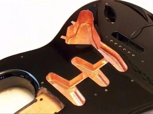 Fita Cobre Adesiva Blindagem Guitarra E Baixo 5 Metros X 5cm