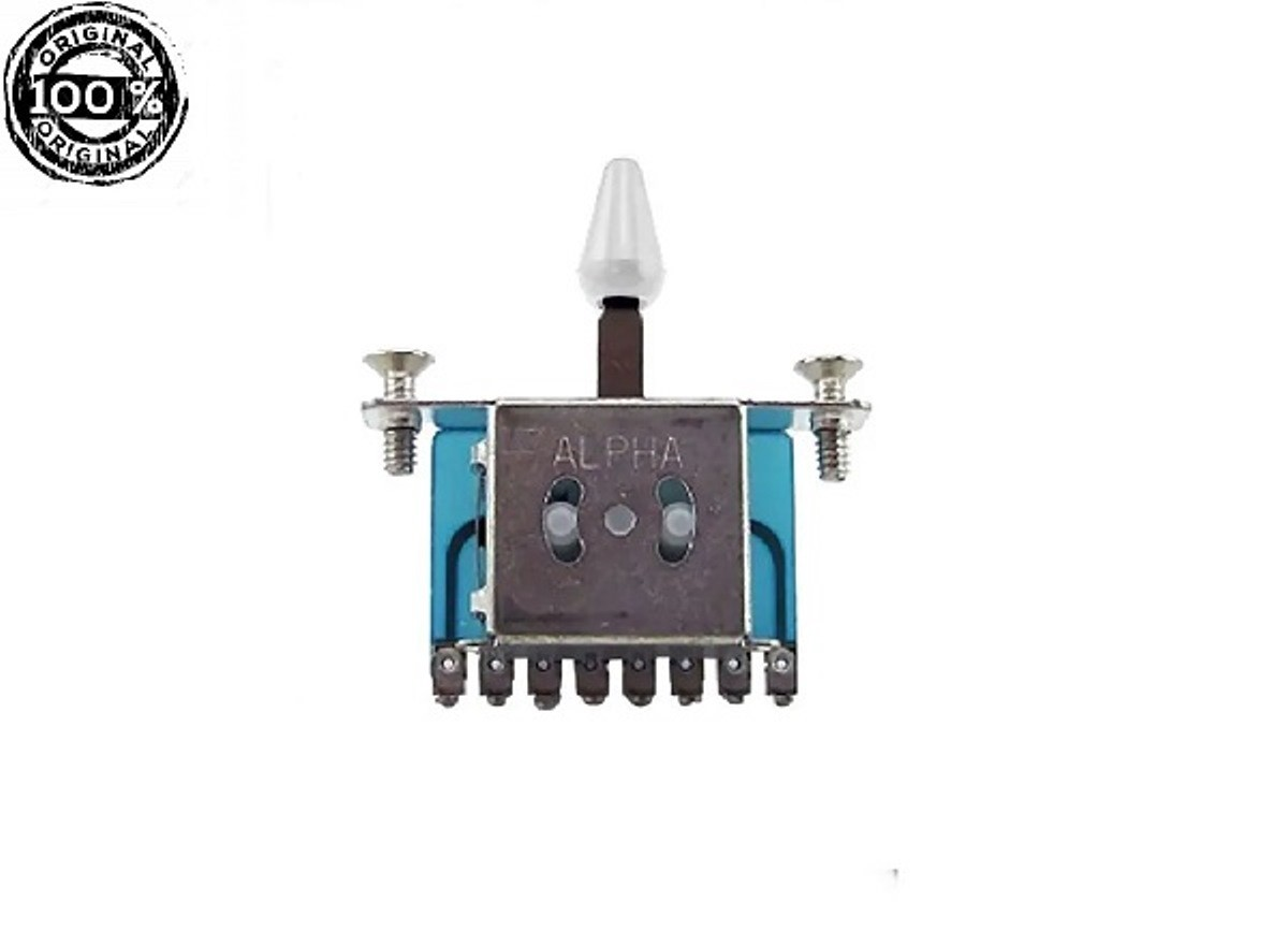 Chave Seletora Guitarra  3 Posições Alpha Original