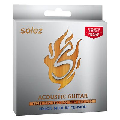 Encordoamento Solez para violão nylon
