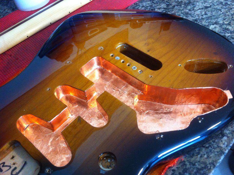 Fita Cobre Blindagem Guitarra E Baixo 3 Mts X 5cm Premium