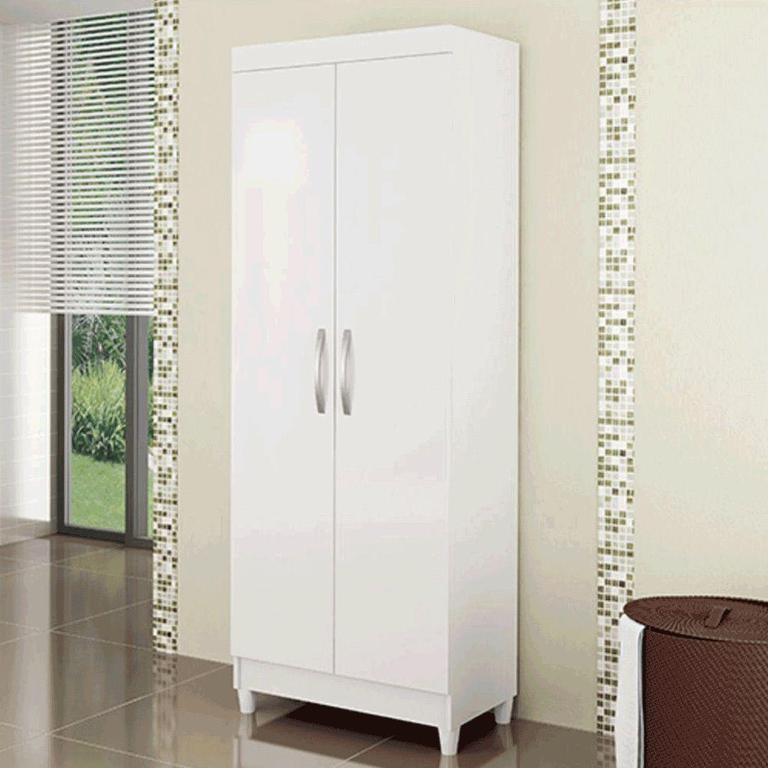 Armário Multiuso 2 portas Lavanda Branco