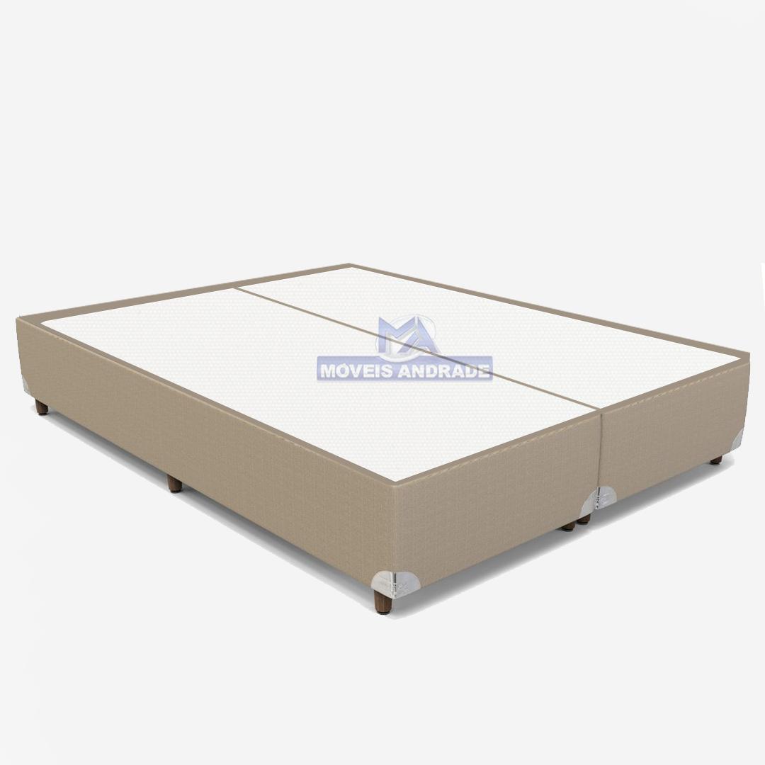Base Para Cama Box King Orthoflex Linum