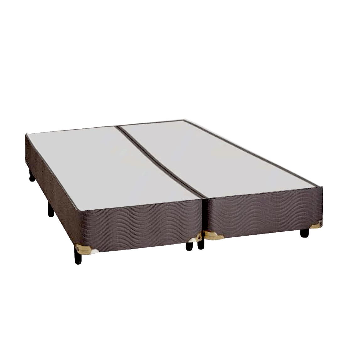Base Para Cama Box King Sankonfort Marrom