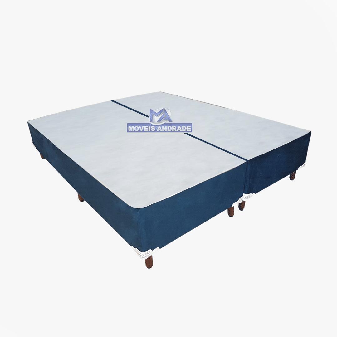 Base Para Cama Box Queen Orthoflex Suede